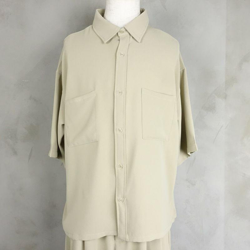 Fafatt ファファット ボックス型 半袖シャツ