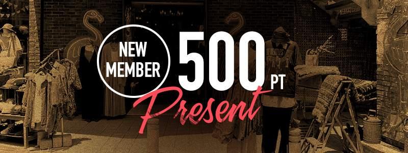 フラミンゴオンライン 会員登録で500ポイントプレゼント